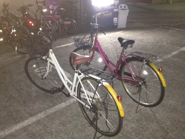 自転車ガーデニア号